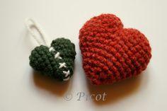Picot - Szydełkowe Inspiracje: Szydełkowe serca