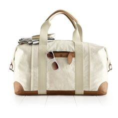 Rank & Style - Mark and Graham Canvas with Leather Weekender Bag #rankandstyle http://www.rankandstyle.com/top-10-list/best-fall-weekend-bags/