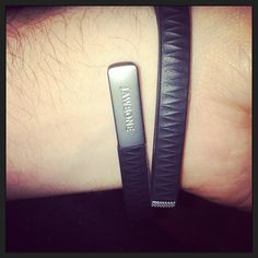 """""""Ready to get healthy!""""  Jawbone up bracelet +app tracks food/sleep/steps and comes in some wicked cute colors."""