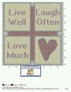 Pc Live Laugh Love sign