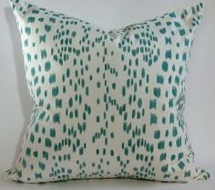 Brunschwig & Fils Les Touches Pillow Cover by WestEndAccents, $60.00... works well with B&F floral chairs for master