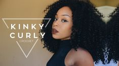 How To Make a BOMB Crochet Wig + GIVEAWAY | Outre Kinky Curly 4 in 1