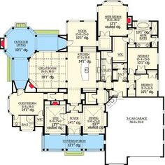 Popular Rambler with Unique Floorplan - 23224JD | Craftsman, Northwest, Luxury, Photo Gallery, Premium Collection, 1st Floor Master Suite, Butler Walk-in Pantry, CAD Available, Den-Office-Library-Study, In-Law Suite, PDF | Architectural Designs