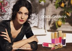 Dolce & Gabbana Make Up Summer Love in Taormina Monica Belucci