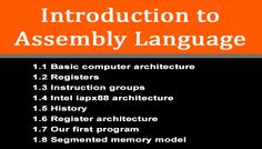 Introduction to Assembly Language  Share your documents on www.apnanotes.com #Programing #notes #students #handouts