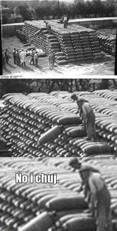 Ups trudno tak bywa jebnie i fajrant 😋👌 Wtf Funny, Funny Jokes, Super Meme, Laugh Or Die, Army Humor, Funny Mems, Bad Memes, History Memes, Funny Bunnies