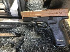Dynamics is the premier USA manufacturer of aftermarket Glock Slides & Springfield slides and accessories. Springfield Pistols, Springfield Xd, Custom Glock, Gun Art, Firearms, Hand Guns, Zero, Pistols, Military Guns