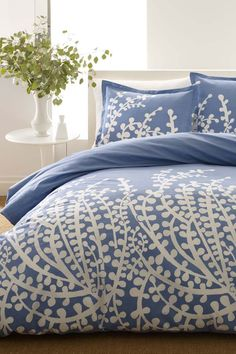 Branches Duvet Set - French Blue |