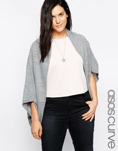 ASOS CURVE Knitted Shrug