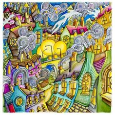 Magical City Coloring Book See More Message