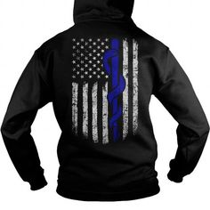 Cool EMT Flag backside T shirts