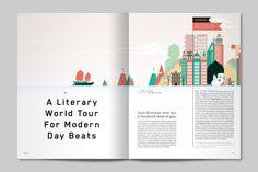 Huck Magazine by Human After All , via Behance