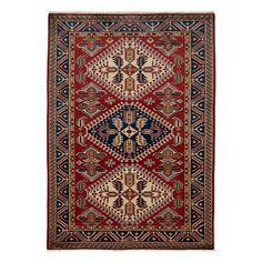 "Shirvan Collection Oriental Rug, 4'4"" x 6'"