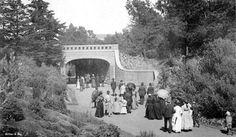 Alvord bridge in Golden Gate Park, San Francisco (1890)