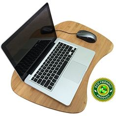 Bamboo Lap Desk for Laptop Jumbo Size with Detachable Cushion Eco Friendly ** More info could be found at the image url.Note:It is affiliate link to Amazon.