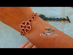 Papatya Desanli Kristal Bileklik Yapımı - YouTube