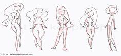 body shapes by kei by kinkei.deviantart.com on @deviantART