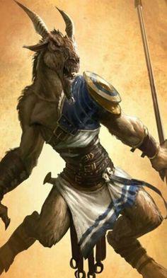 Satyr warrior
