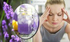 Si sufres ansiedad o migrañas debes leer esto. Hoy aprenderás como hacer limonada de lavanda para el dolor de cabeza para aliviarlos.