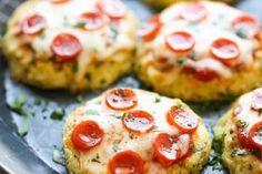 Mini Karnabahar Pizzaları
