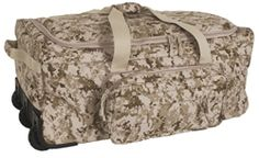 Digital Desert Deployment/Container Bag | Marines | Military | Military Bags | Military Luggage