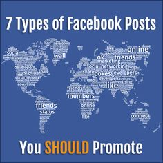 7 Types of Facebook Posts You SHOULD Promote http://kimgarst.com/7-types-of-facebook-posts-you-should-promote
