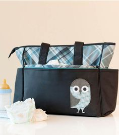 #DIY Owl Diaper Bag Decal from @Cricut® #cricutexplore