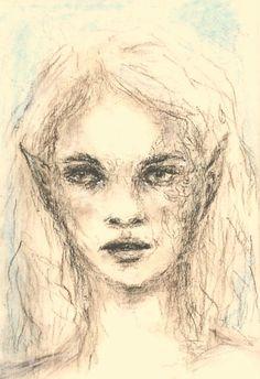 Zeichnung in Pastell