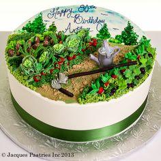 Garden Delight Cake