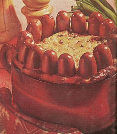 Frank and Corn Crown. For those times when you need to serve an elegant meal. (Better Homes and Gardens Meat Cookbook, 1969)