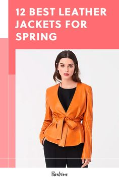 Tall Fashion Tips Get ready for that gorgeous spring weather with the best leather jackets for spring! Fashion Tips Get ready for that gorgeous spring weather with the best leather jackets for spring! Best Leather Jackets, Leather Jacket Outfits, Fashion Tips For Girls, Petite Fashion Tips, 80s Fashion, Modest Fashion, Simple Style, Cool Style, Leotard Fashion