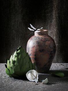 paper still life by Fideli Sundqvist