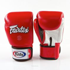 Fairtex BGV1 Red White Gloves Muay Thai Kick Boxing MMA Sport Training Punching  https://nezzisport.com/products/fairtex-bgv1-red-white-gloves-muay-thai-kick-boxing-mma-sport-training-punching?variant=4599345381413