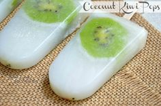 Coconut Kiwi Popsicle