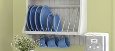 Image result for how to make a plate rack with dowels