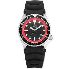 SHARK ARMY Herren Armbanduhr Quarzuhr Schwarz Silikon Band Analog Datum Anzeige Sport Uhr SAW112 - http://uhr.haus/shark-army/shark-army-herren-armbanduhr-quarzuhr-schwarz-6