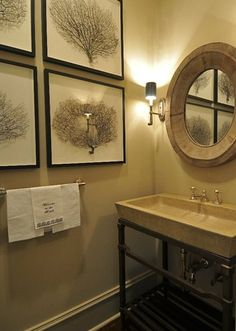 Powder Room Design, Pictures, Remodel, Decor and Ideas - page 32
