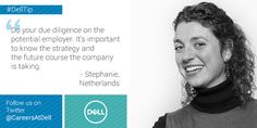 Working at Dell Careers Future Career, Career Opportunities, Job Opening, The More You Know, What Is Life About, Netherlands, Interview, Business, Tips