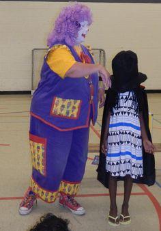 school magic show with www.pocketstheclown.ca