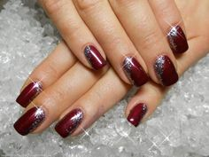 There are inspiring photos that you can see below with a brilliant nail art designs which you can use it for your New Years Eve. Related PostsBEAUTIFUL CHRISTMAS NAIL ART Pretty Lace Nail Art Designs Nail and Silver for Girls 20171 Xmas Nails, New Year's Nails, Holiday Nails, Hair And Nails, Christmas Nails Glitter, Christmas Manicure, Fancy Nails, Cute Nails, Pretty Nails