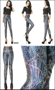 Print Leggings, Harem Pants, Chic, Fashion, Shabby Chic, Moda, Fashion Styles, Printed Leggings, Harlem Pants