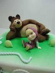 masha y el oso cakes - Buscar con Google