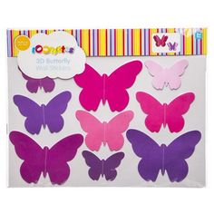 3D Butterfly Wall Stickers | Kmart $5