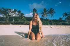 the south point one piece by elle mer swimwear. designed and surf tested in honolulu, hawaii.