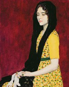"last-picture-show: "" William Strang, Panchita Zorolla, 1912 """