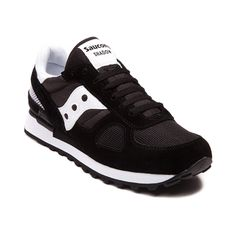 Looking for a classic athletic look with iconic comfort and support? The retro-styled Saucony Shadow Original is the shoe for you. The Saucony Shadow features a nylonmesh combo upper with suede overlays, padded collar and tongue, Supportive TPU heel piece, shock absorbing EVA midsole, and durable rubber triangular tread outsole.