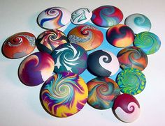 30 easy diy polymer clay beads ideas (20)