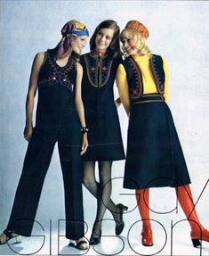 60s And 70s Fashion, Seventies Fashion, Teen Fashion, Fashion Models, Vintage Fashion, Patti Hansen, Lauren Hutton, Vogue, Seventeen Magazine