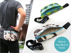 to use for a dog training pouch Waist Pouch, Zipper Pouch, Pouch Pattern, Free Pattern, Waverly Fabric, Bandana Styles, Hip Bag, Shopper Tote, Fanny Pack
