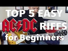 5 EASY AC/DC Songs for Beginner Guitar - YouTube